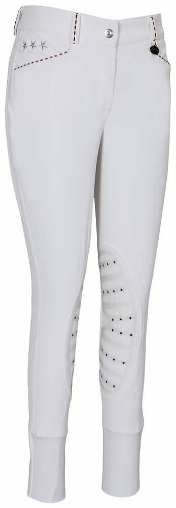 Equine Couture Kids Stars & Stripes Knee Patch Breeches