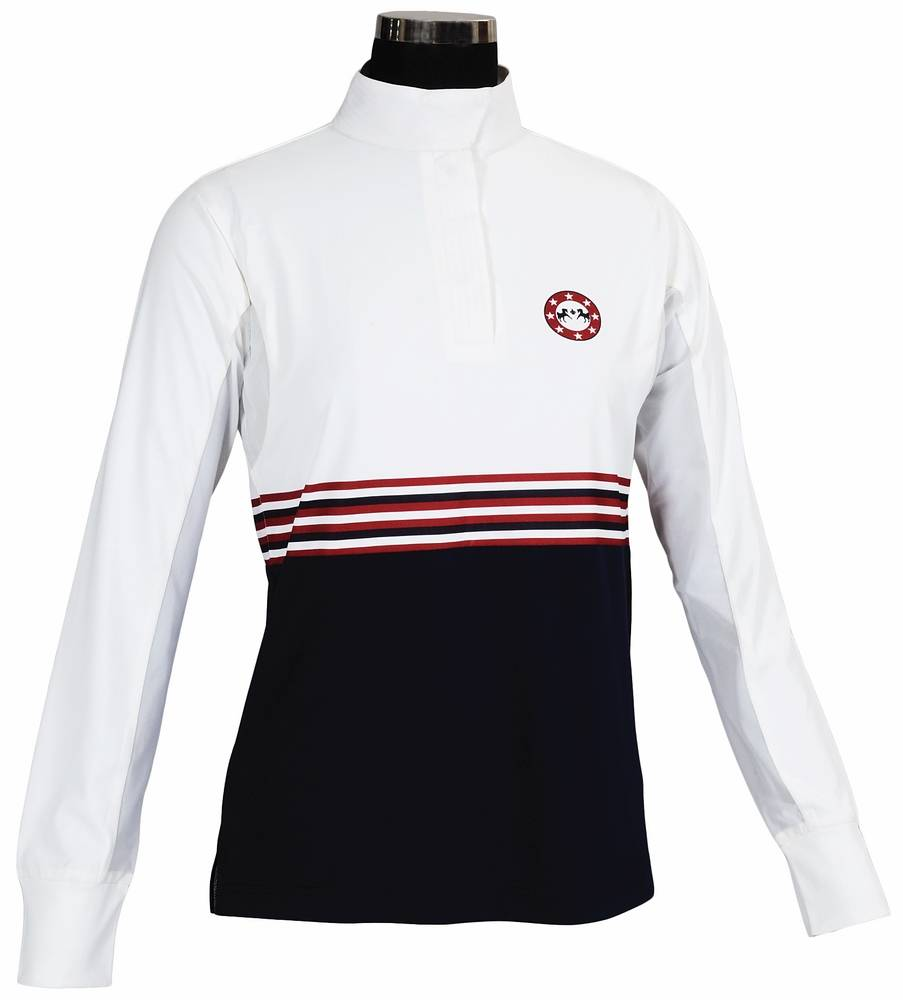 Equine Couture Ladies' Centennial Long Sleeve Show Shirt