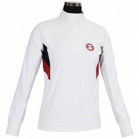 Equine Couture Ladies Bostonian Long Sleeve Show Shirt