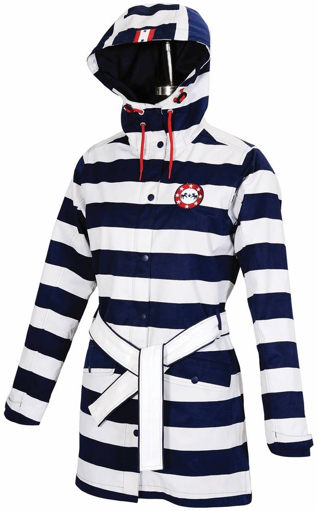 Equine Couture Ladies Nautical Rainshell Jacket