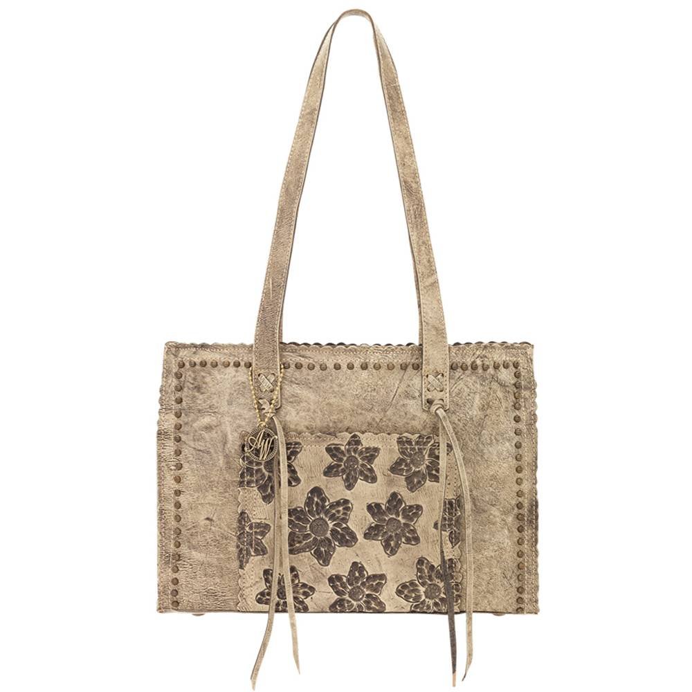 American West Flower Kids Shopper Tote Handbag