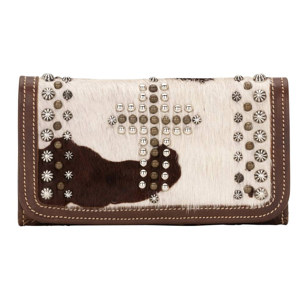 American West Home on the Range Ladies' Tri-Fold Wallet