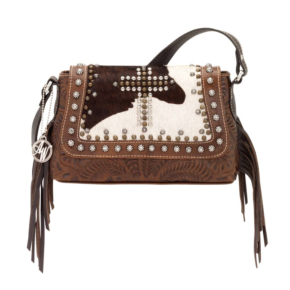 American West Home on the Range Crossbody Handbag