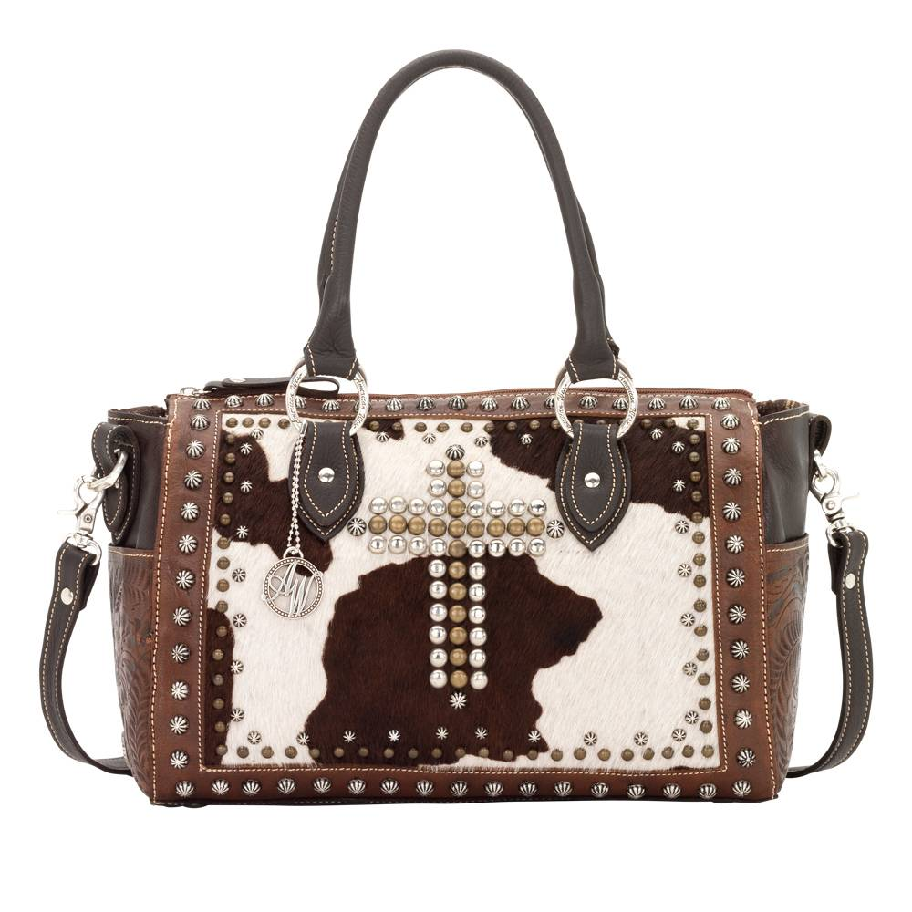 American West Home on the Range Convertible Satchel