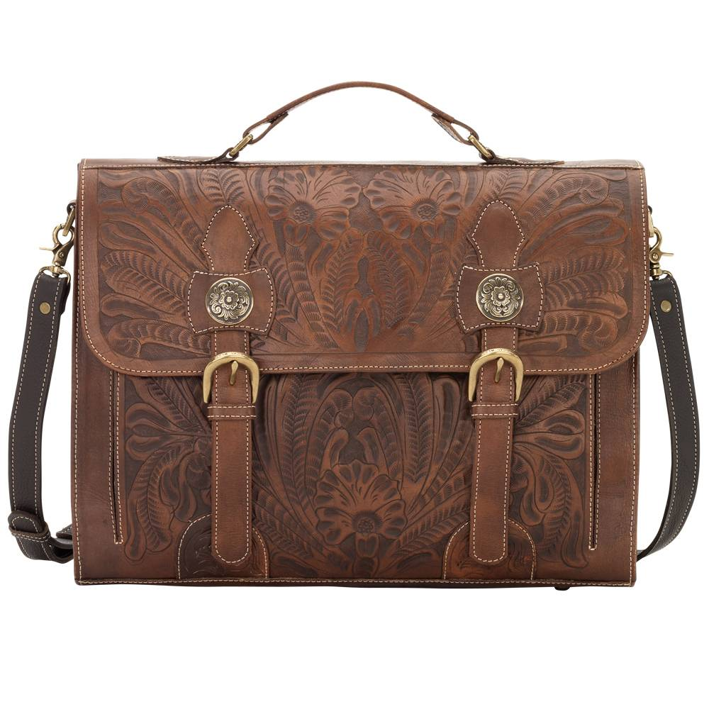 American West Stagecoach Briefcase