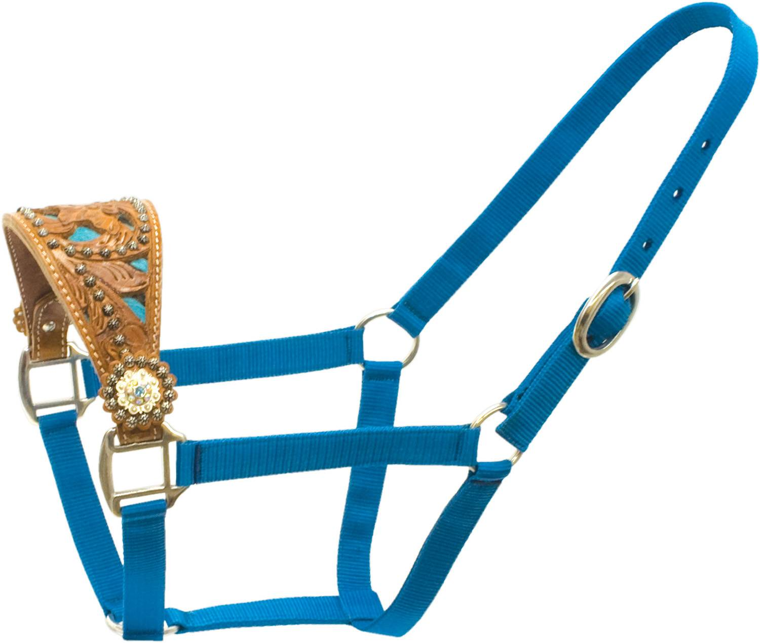 ABETTA Halter with Zebra In-Lay Noseband