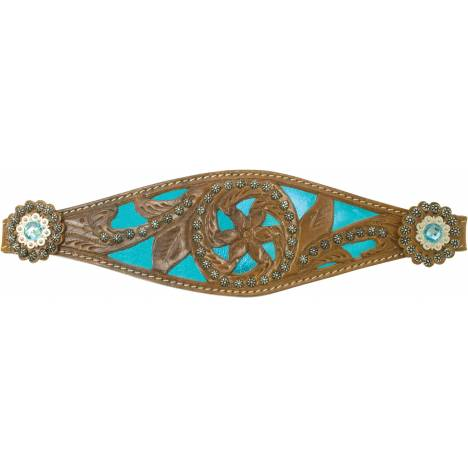 ABETTA Metallic Filigree Noseband