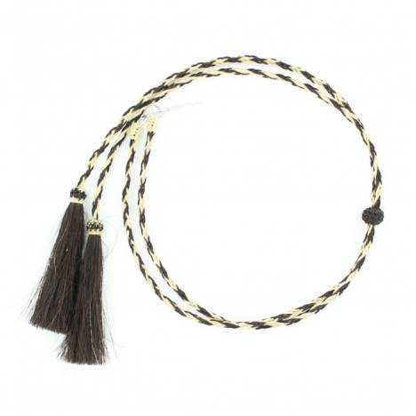 M & F Western Braided Stampede String with Tassel