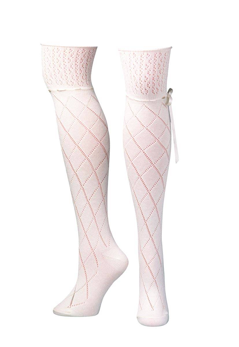 Blazin Roxx Over The Knee Diamond Lace Boot Sock