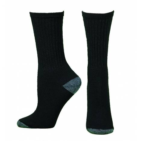 Boot Doctor Mens Workboot Crew Socks, 3 pack