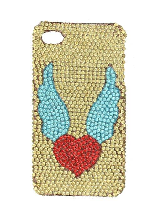 Nocona Heart/Wing iPhone-4 Cover