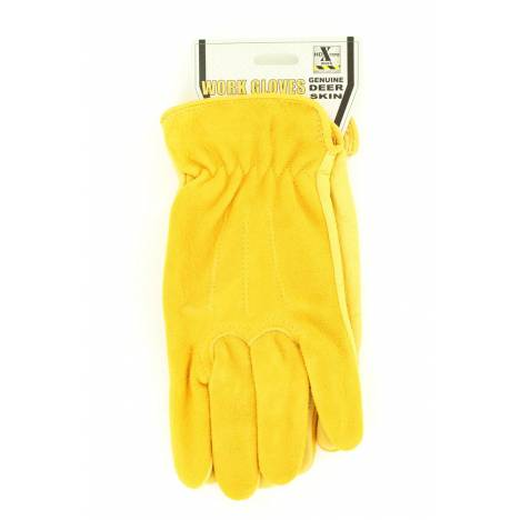 HD Xtreme Mens Deerskin with Suede Gloves