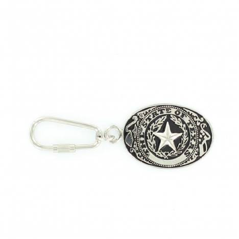M & F Western Texas Seal Key Ring