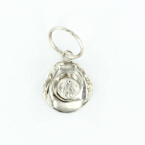 M & F Western Hat Key Ring