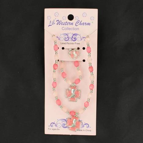 Blazin Roxx Little Girls Jewelry Boot Set