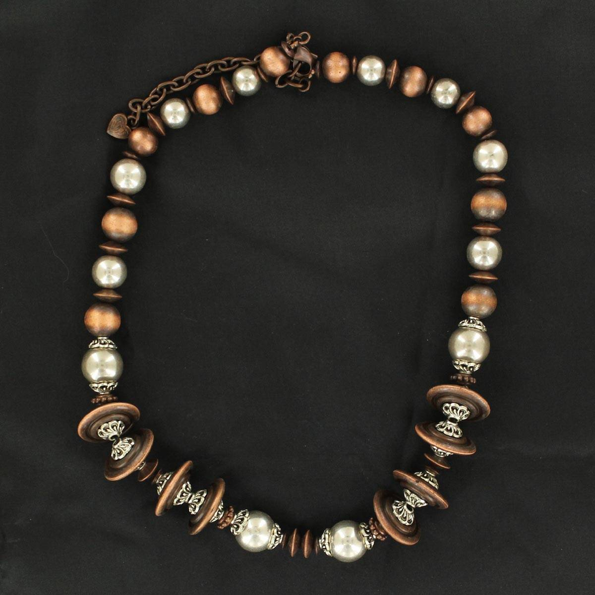Western Charm Multi Beaded Necklace