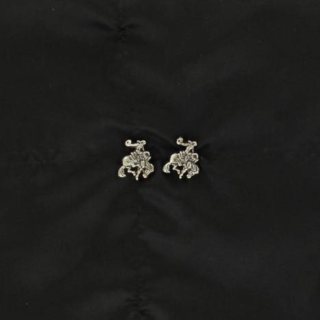 Lightning Ridge Saddle Bronc Earrings