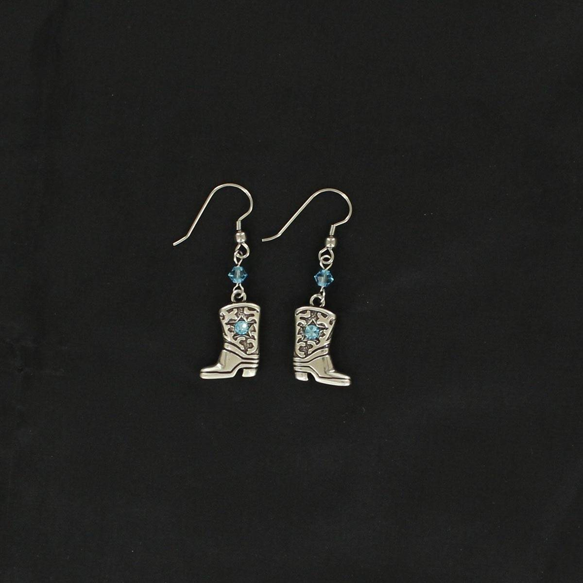 Lightning Ridge Boots Earrings