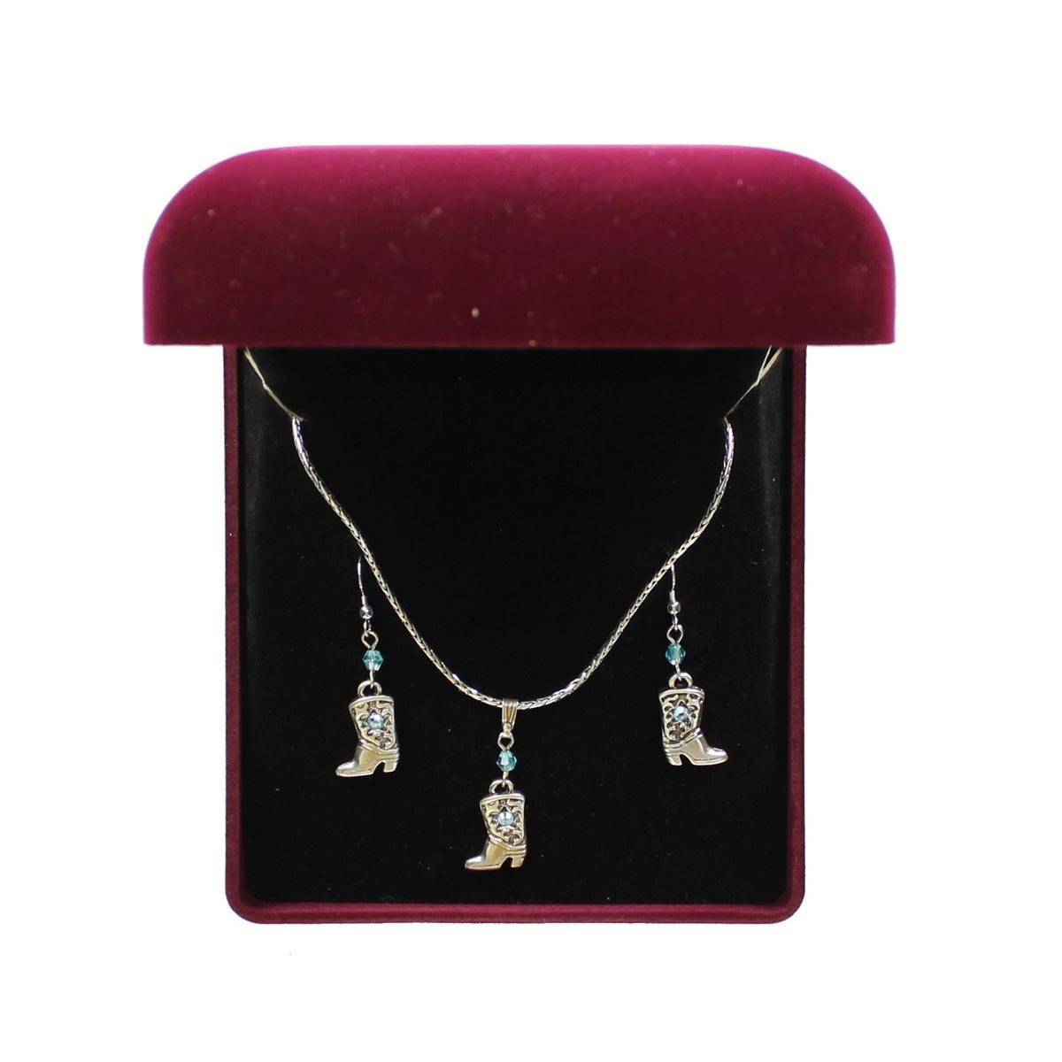 Lightning Ridge Boots Jewelry Set
