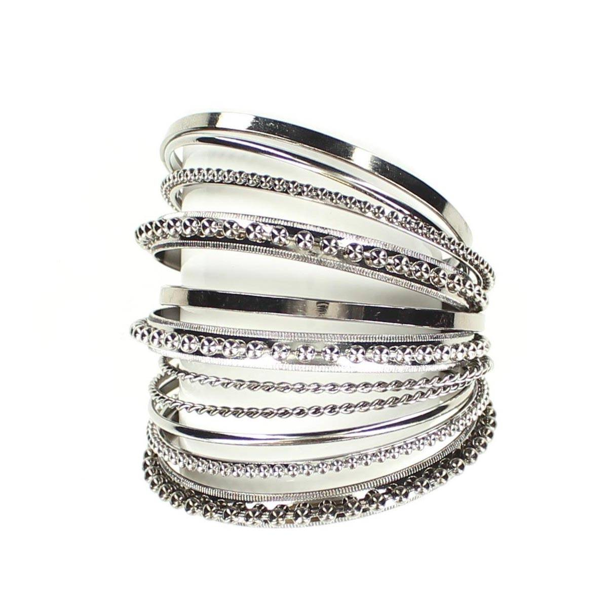 Blazin Roxx 9 Piece Bling Bangle Set