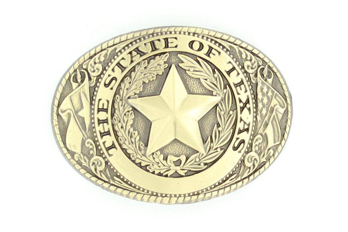 Nocona Texas Seal Buckle