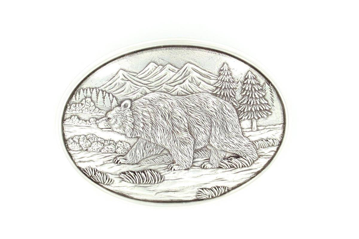 Nocona Grizzly Buckle