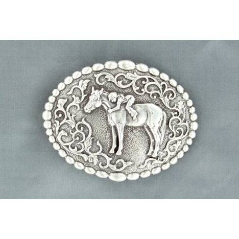 Nocona Youth Oval First Love Buckle