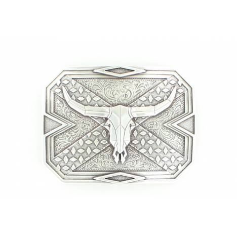 Nocona Square Steerhead Buckle