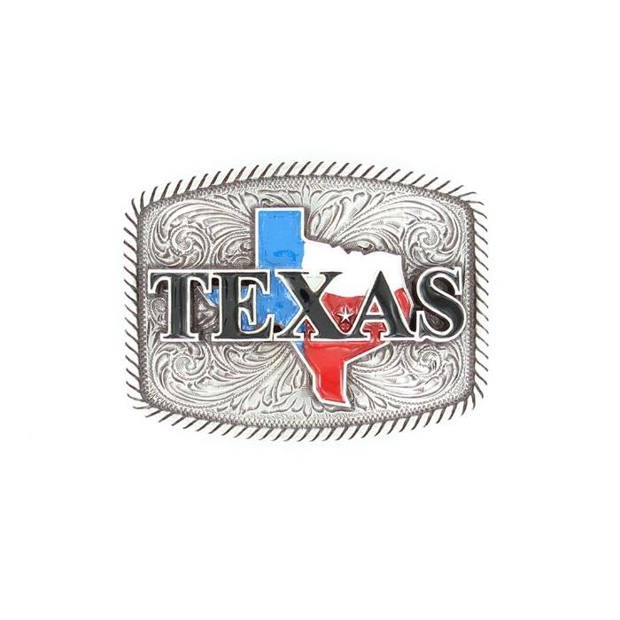 Nocona Rectabgle TEXAS Buckle