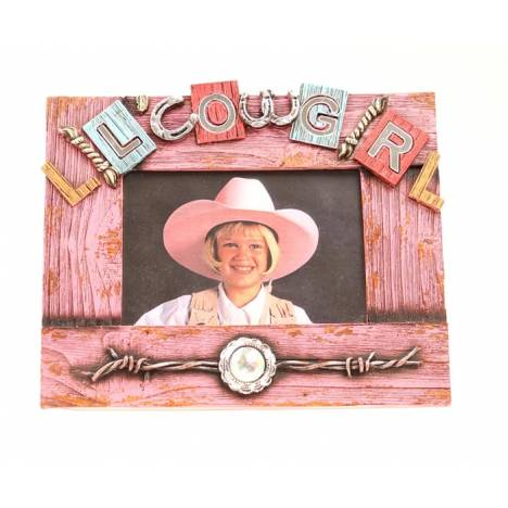 Western Moments Lil Cowgirl Frame