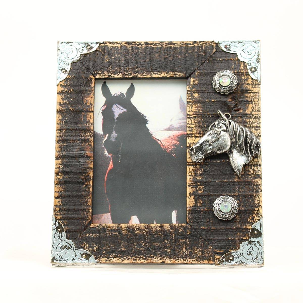 Western Moments 3D Horse Head Frame