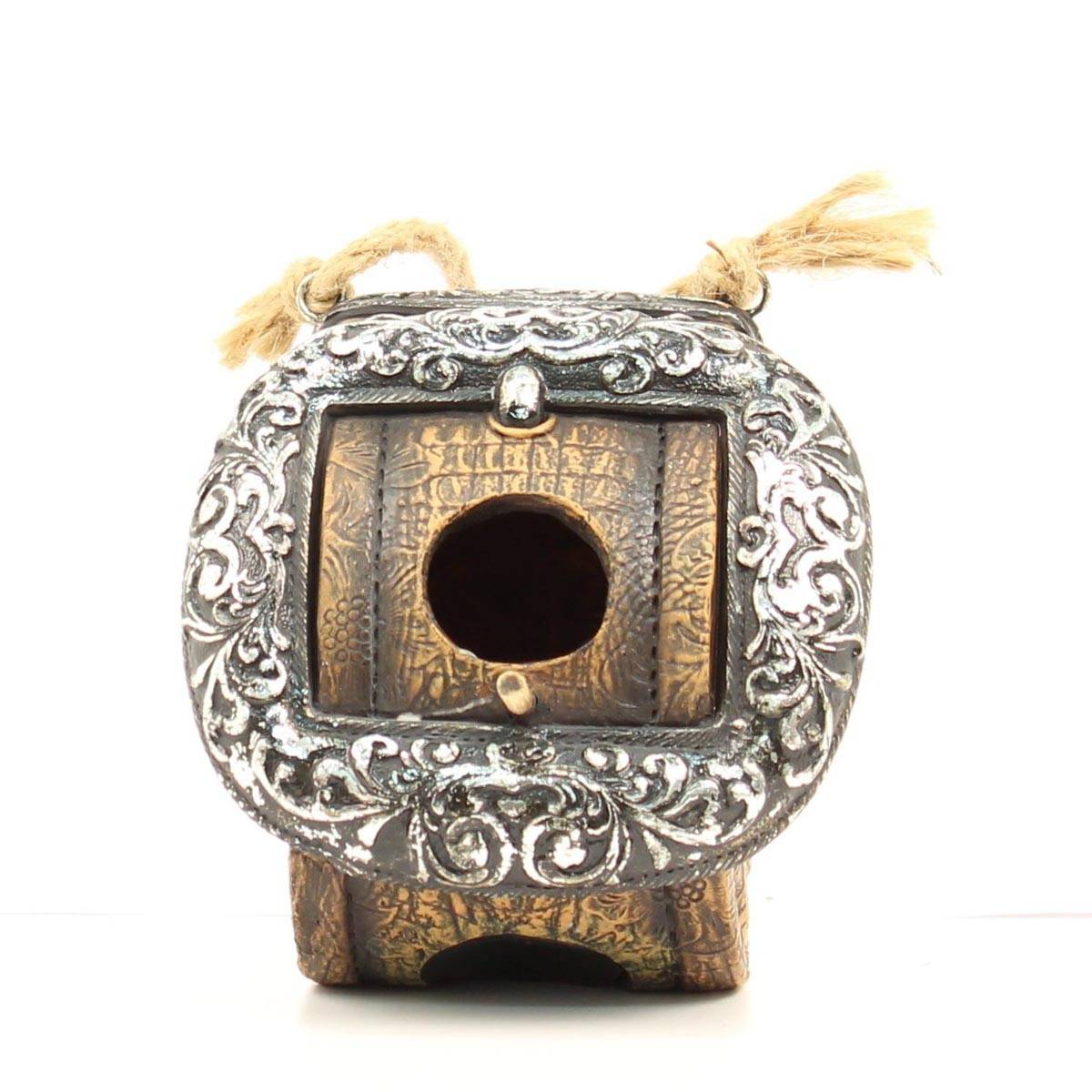 Western Moments Rolled Belt Birdhouse
