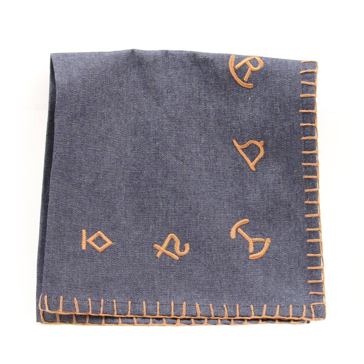 Western Moments Branded Denim Napkin