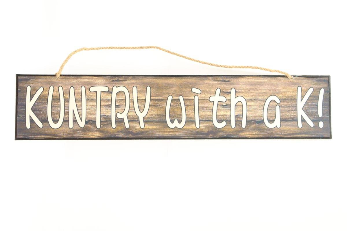 Western Moments Kuntry Metal Sign