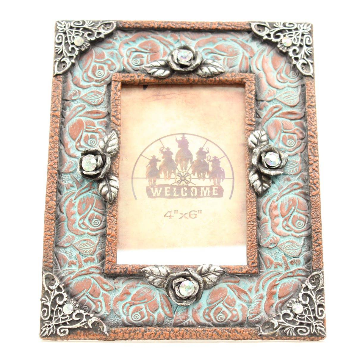Western Moments Hangin Rose Picture Keeper