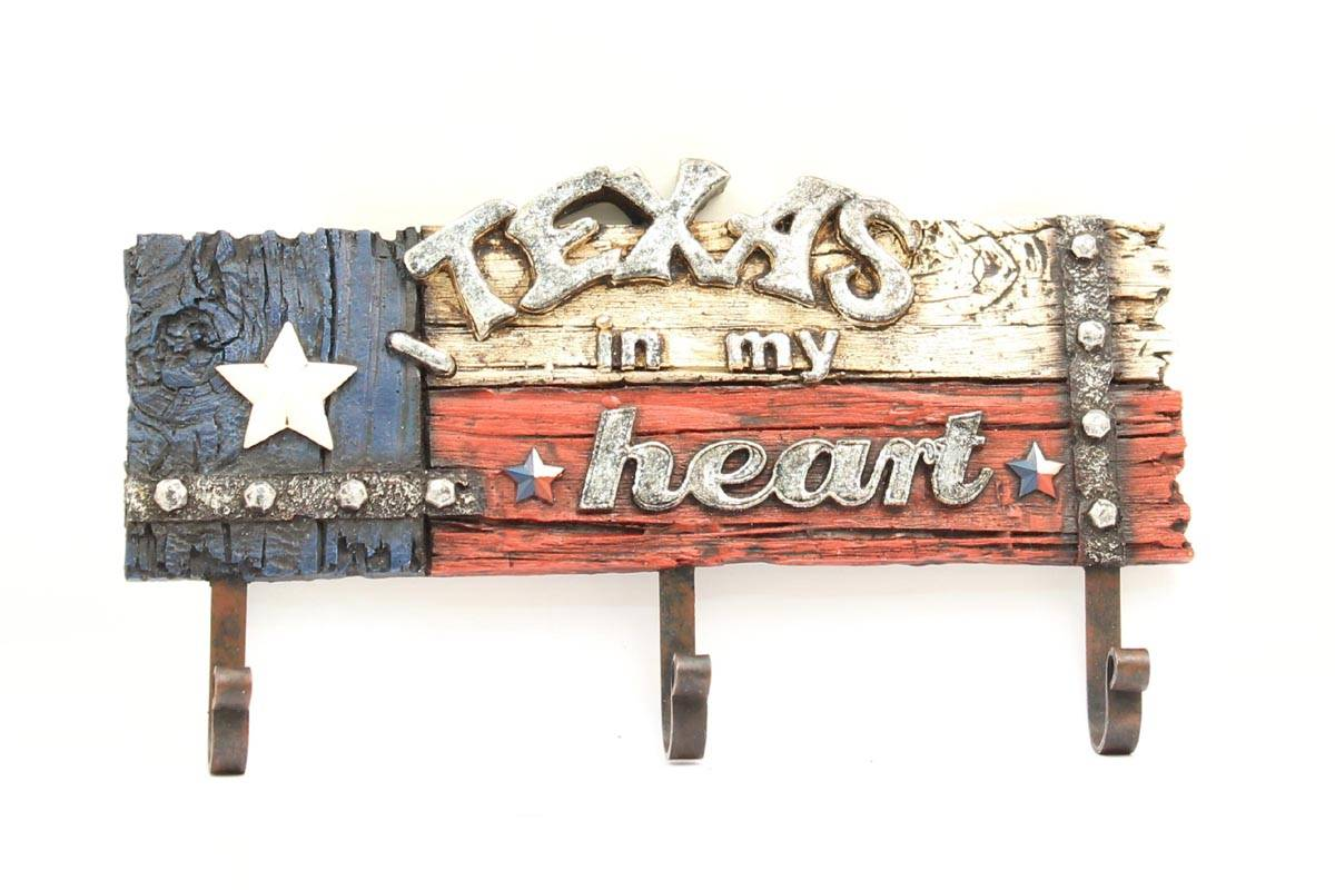 Western Moments TEXAS Coat Hooks