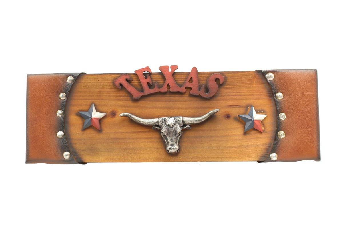Western Moments Wooden Texas Sign