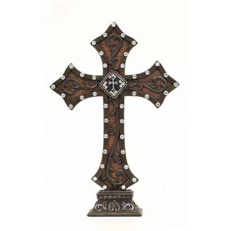 Western Moments Dia/Cross Concho Table Cross