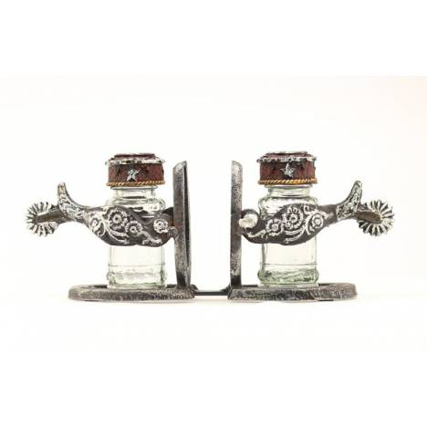 Western Moments Double Spur Salt/Pepper Shakers