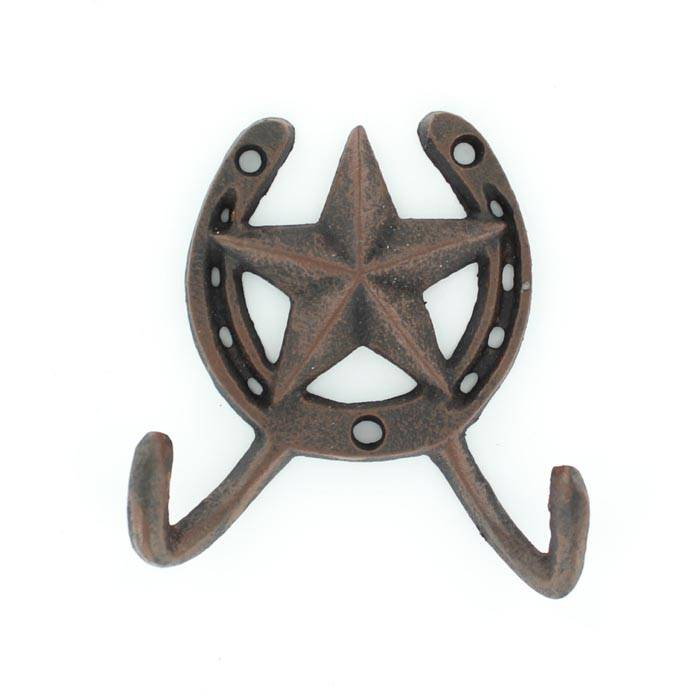 Western Moments HS/Star Cast Iron Double Hook