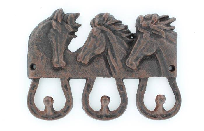 Western Moments Horsehead Coat Hook