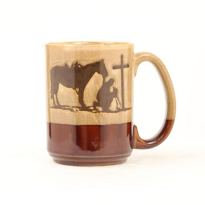 Western Moments Cowboy Prayer Coffee Mug