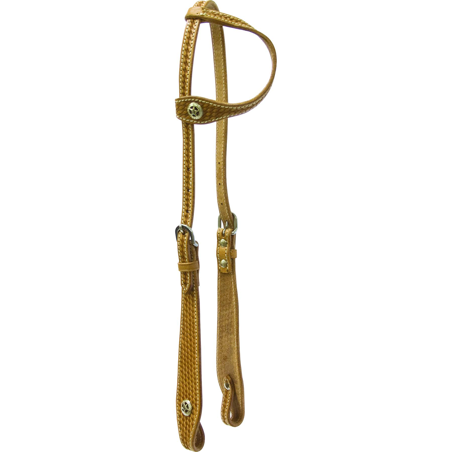 Cowboy Pro One Ear Headstall with Star Concho