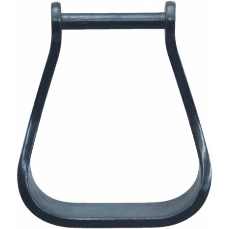 Abetta Black Steel Visalia Plain Stirrups