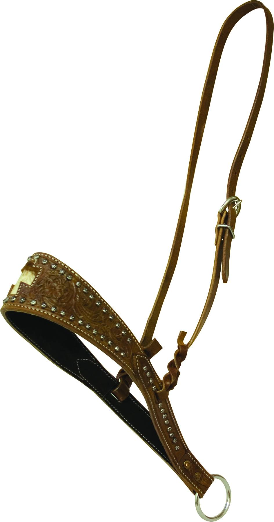Cowboy Pro Wide Noseband with Hair On