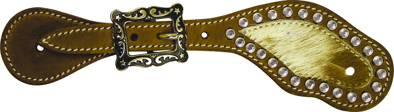 Cowboy Pro Youth/Ladies' Hair On Spur Strap