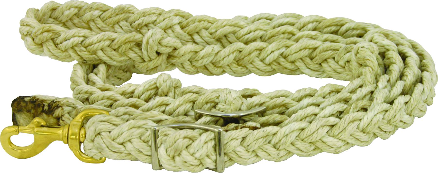 ABETTA Barrel Reins Braided with Knots