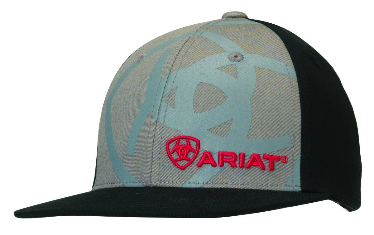 ARIAT Youth Flat Bill Snap Back Cap