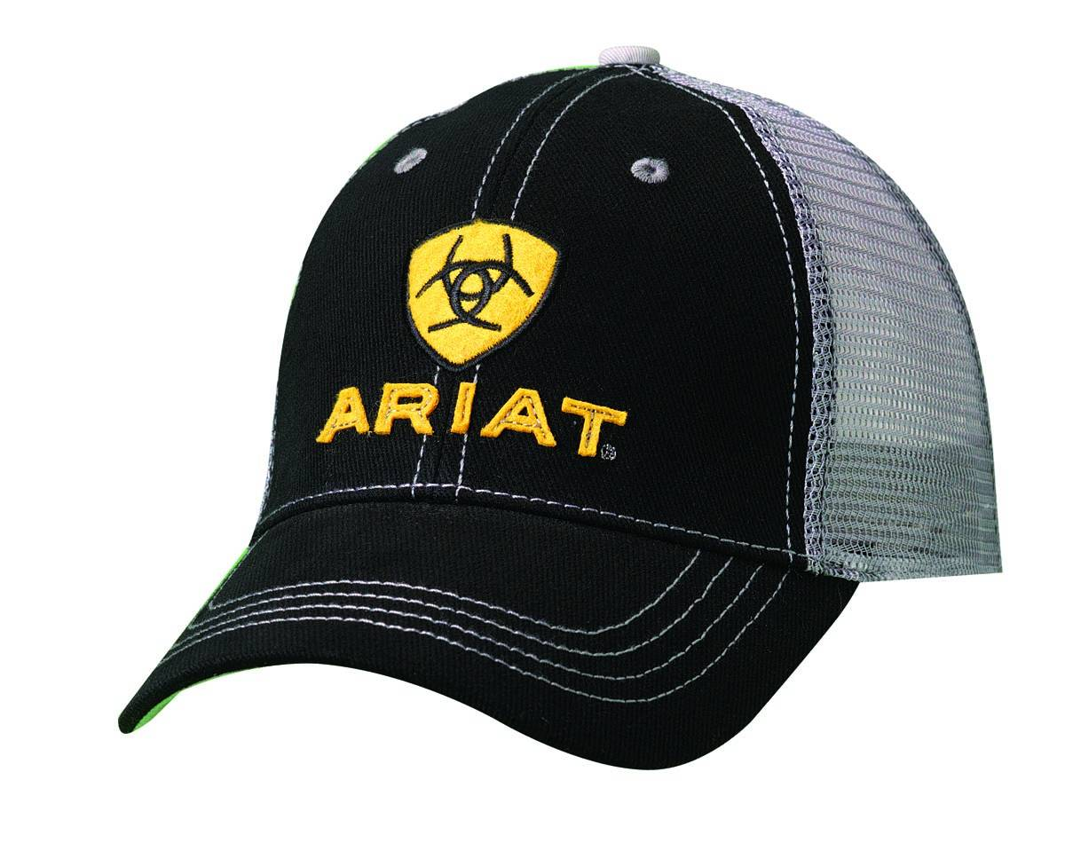 ARIAT Embroidered Logo Mesh Back Cap