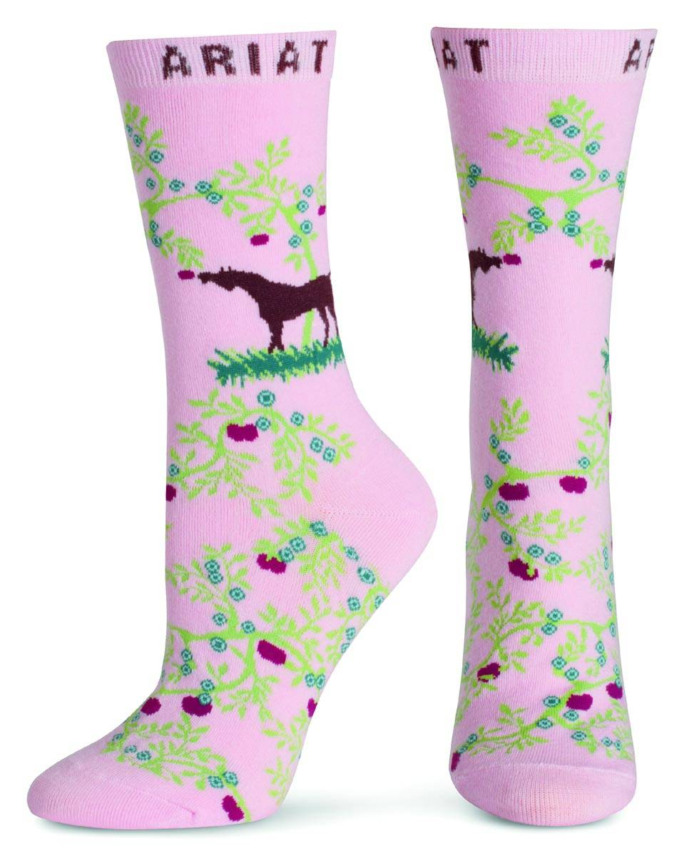 ARIAT Women's Orchard Crew Sock